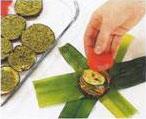 Leek Bundles With Provencal Vegetables