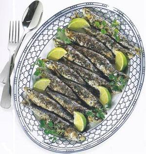Sardines With Coriander