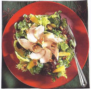 Smoked Chicken Salad With Walnuts
