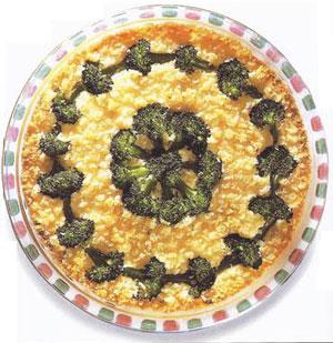 Broccoli & Ricotta Tart