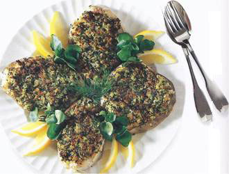 Cod Steaks With Anchovy & Fennel