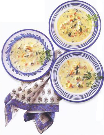 Oyster Stew With Saffron