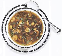 Tasty Mushroom Soup